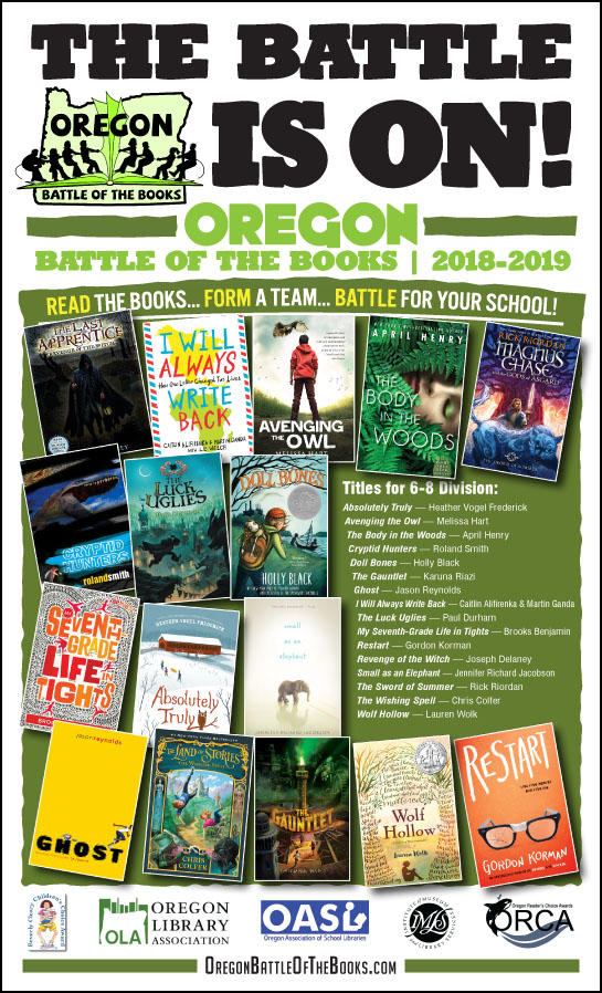Posters and Bookmarks – Oregon Battle of the Books